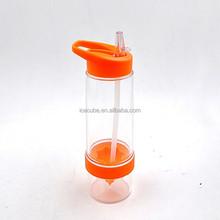 Portable fruit water bottle ,780ml vitality juice source bottle lemon cup