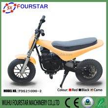 2015 new product 250W electric kids motorcycle off road electric mobility scooter FSD250DH