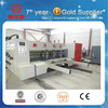 Fully servo vacuum suction flexo printing & Die cutting box making machine