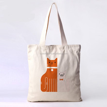 Fashion shopping bag custom cotton canvas tote bag