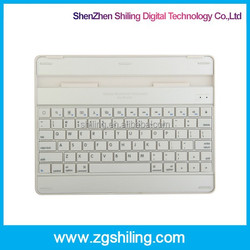 keyboard for apple for ipad 2 bluetooth keyboard slim wireless Aluminum case stand