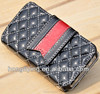 Shining Deluxe Genuine leather Women's Wallet case for iphone 5