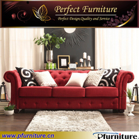 livingroom decorated italian antique style hotel loveseat sofa