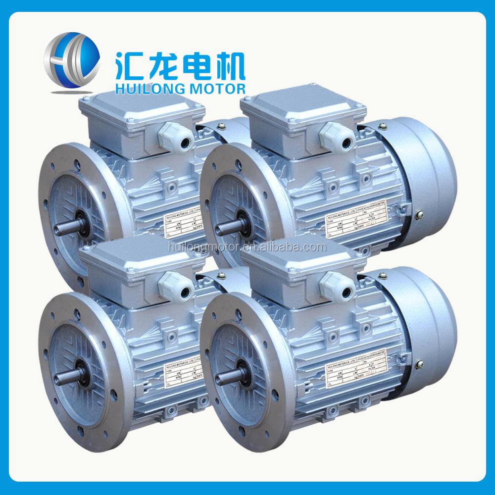 Iec Standard Ie3 Motor Aluminium Frame B5 Flange Ip55