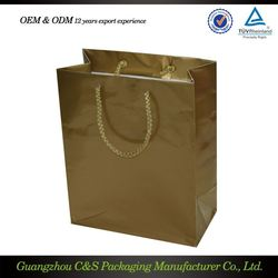 Accept Custom Order Recycled Brown Grocery Paper Bag