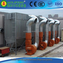 Industrial air extractor, Pulse dust extraction