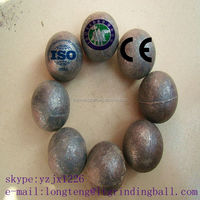 Hot roll forged steel grinding ball dia20mm-150mm