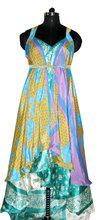 1 Skirt 100 ways to style -Silk Wrap around Skirt Dress