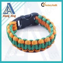 Custom cheapest paracord 550 survival bracelet for business