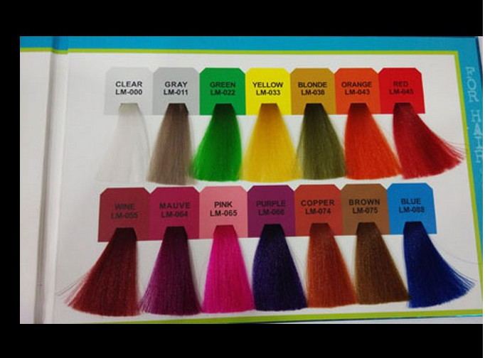 Shining And Colorful Hair Crazy Color Hair Coloring Wax Semi