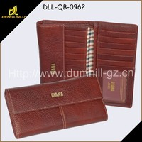 Top fashion name brand lady purses leather wallet