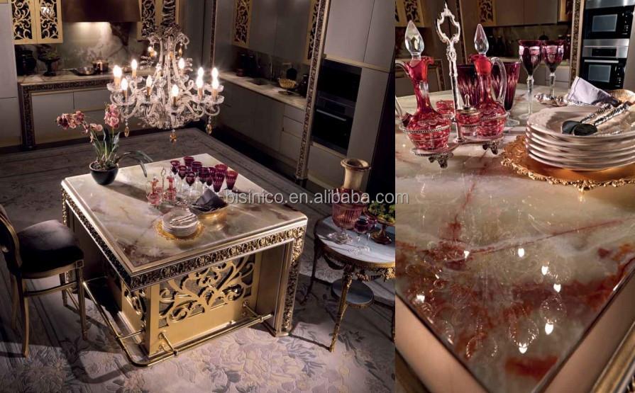 champagne di lusso armadio da cucina di legno, stile vittoriano ... - Cucina Di Design Armadio Di Lusso