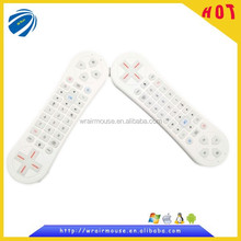 electroincs infrared remote control air mouse with hebrew keyboard for smart tv
