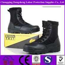Polícia de couro botas militares Original Swat