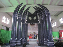 popular inflatable arch of ghost, outdoor inflatable entrance arch for decoration