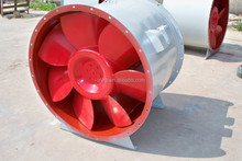 Fire fighting discharge smoke special used fan
