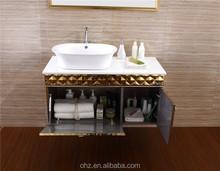 T-083 Wall mounted bathroom vanity wall mirror from china foshan factory
