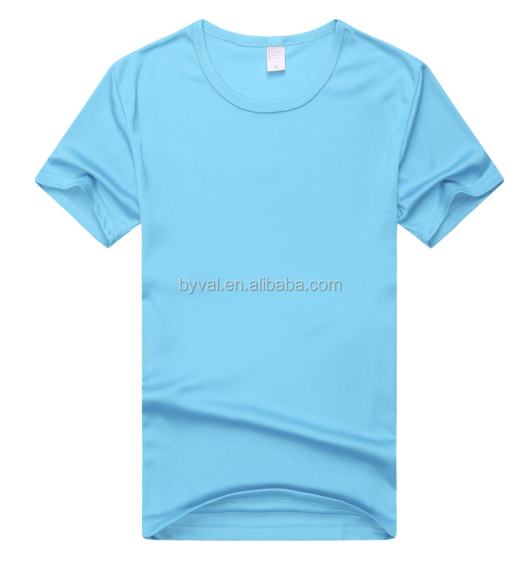 Wholesale Custom Blank T Shirts 100 Polyester Sports T