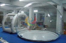 Outdoor Inflatable Transparent family Camping Tent