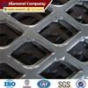 decorative aluminum expanded metal mesh panels / expanded metal mesh factory