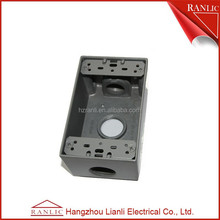 Connect conduit install electric meter box