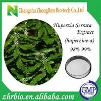 Zhrbio supply Natural Huperzia Serrata (Thunb.)Trev Extract Powder Huperzine A