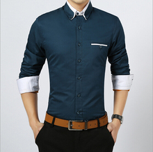 d82221f 2016 latest hot thick formal cotton men's shirt