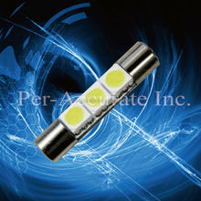 T6 Mirror Fuse LED 6641 Car Sun Visor Vanity Light 3SMD 5050 reading lamp high brightness