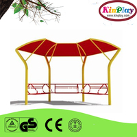 Metal material Hot design cheap price used Public comfortable Park benches for sale