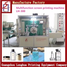 New Type Three Position Automatic Silk Round Bottle Screen Printing Machine for Sale in Guangzhou