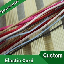 Colorful Polyester Round Elastic Cord For Face Masks