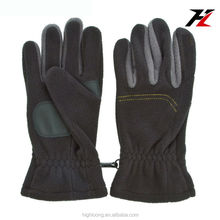 Ultra-soft Leather Palm/fleece Back Thermal Lined Gloves for All Ages