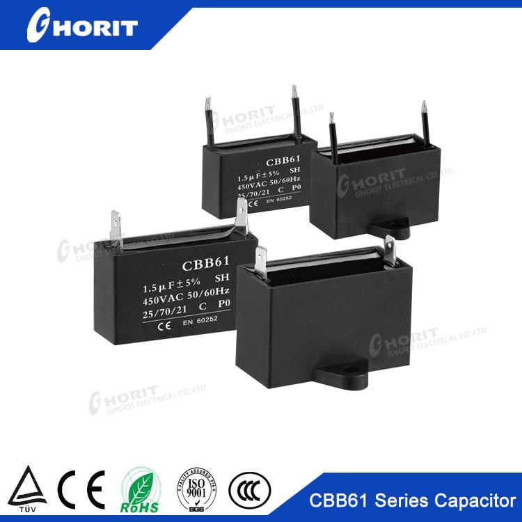 Cbb61 Capacitor 0 8uf 24uf 1 5uf 12uf 250v 250vac 400v