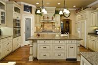 PVC thermal foil kitchen cabinet set