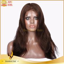 natural straight Chinese hair virgin human hair lace front wigs Glueless human hair lace front wig with bangs