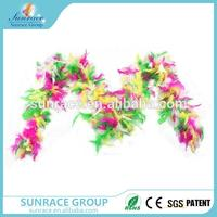Hot selling thanksgiving feather boa carnival decorations feather boas bulk with high quality
