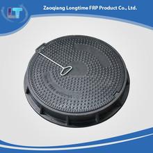 Locked Fiberglass reinforced manhole cover & Round SMC FRP manhole cover & Composite manhole cover with handle