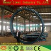 Different size anti-corrosion braided rubber expansion joint