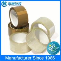 40/42/45/50mic custom logo brown /clear custom printed adhesive bopp packing tape for carton sealing