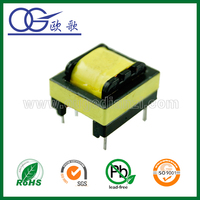 EE19 horizontal 3 phase step up transformer