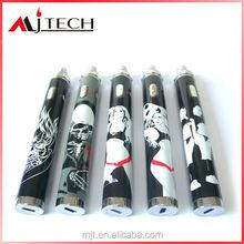 2014 e-cig batteries adjustable voltage 1300mah 1600mah hello kitty electronic cigarette battery