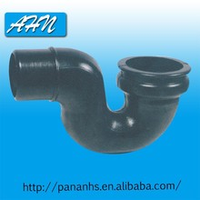 Supply High Quality Low Price Bathroom Plastic Black U Bend Pipe