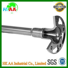 high precision cnc machining parts gun drilled axle, toy gun drilled parts