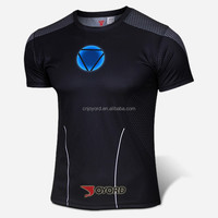 2015 quick dry and breathable iron man t shirt in stock