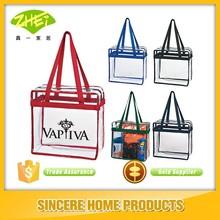 Clear PVC Beach Tote Bags