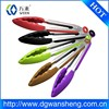 BPA free food grade silicone and stainless steel food tong