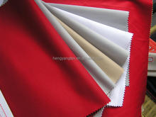 100% Polyester Taffeta 190T Black Stock fabric