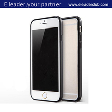 plastic with tpu bumper hybrid case for iphone 6