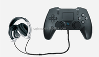 Bluetooth Video Game Controller with Keyboard and Headset for PS3