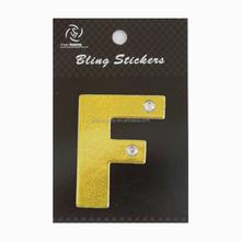 #ASS5170F alpahbet sticker 4*5cm DIY mobile phone sticker
